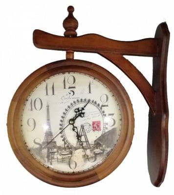 Двоен часовник за стена