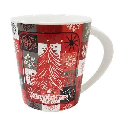 Коледна порцеланова чаша