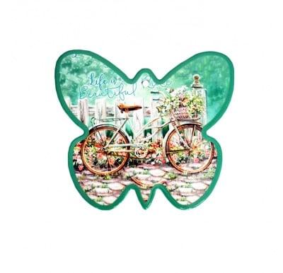 Керамична подложка за горещи съдове Пеперуда