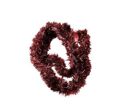 Гирлянд кафяво-червен