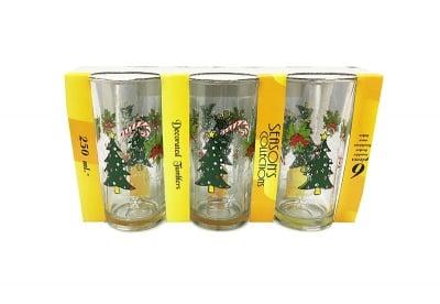 Комплект коледни чаши