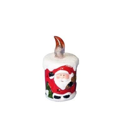 Коледна свещ с батерии