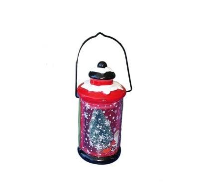 Коледен фенер с батерии