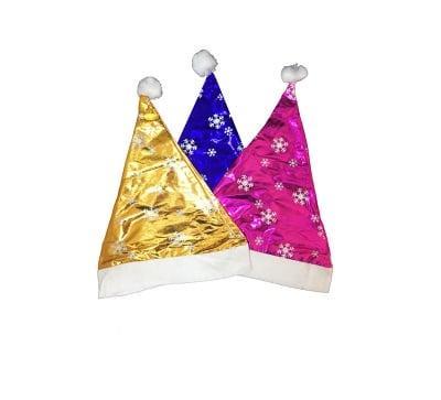 Коледна шапка-3 цвята