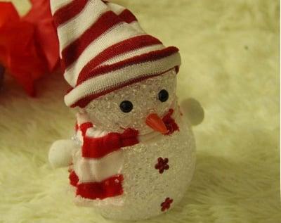 LED Снежен човек