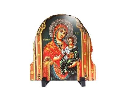 Каменна икона на стойка