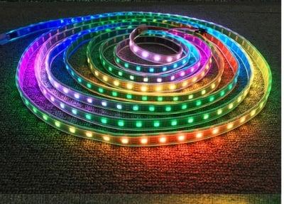 LED Цветна лента-5 м.