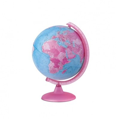 Розов светещ глобус-25 см.