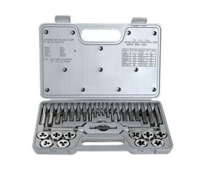Комплект метчици и плашки 31 части MTX Master