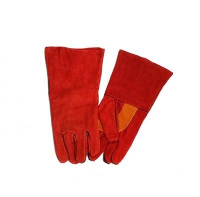 Работни ръкавици от естествена кожа