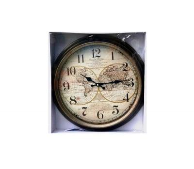 Стенен часовник Глобус