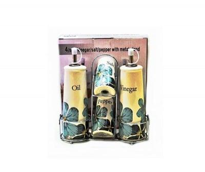 Комплект оливерник-Цветя