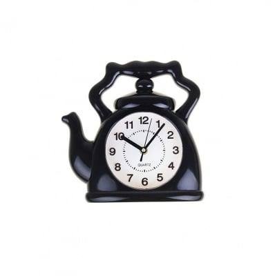 Стенен часовник-Чайник