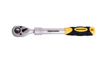 Тресчотка с телескопична дръжка 1/2 Topmaster