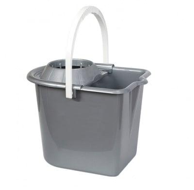 Кофа с изтисквачка с колела - 15 литра