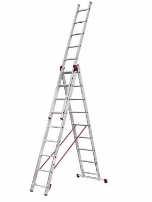 Професионална алуминиева стълба 3х9