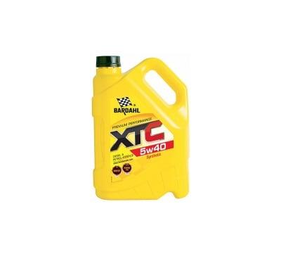 Масло Bardahl - XTC 5W40-5 л.