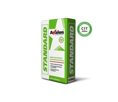 Лепило за плочки Standard C1T Avalon