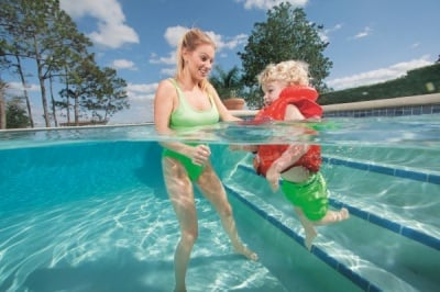 Надуваема детска жилетка Swim safe Bestway