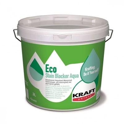 Грунд за петна Eco Stain Blocker Aqua 3 л.