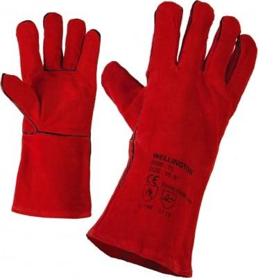 Ръкавици от естествена кожа за заварчици