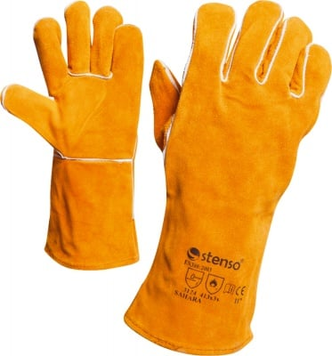Работни ръкавици от естествена кожа STENSO