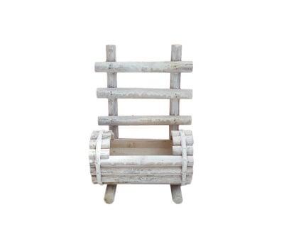Дървена кашпа Пейка