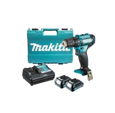Комплект акумулаторен винтоверт и бързо зарядно устройство с 2 батерии DF333D Makitа
