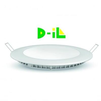 Кръгъл LED панел за вграждане D-iL 18W 6500К