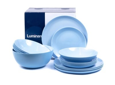 Сервиз за хранене 19 части -  Luminarc Diwali Light Blue