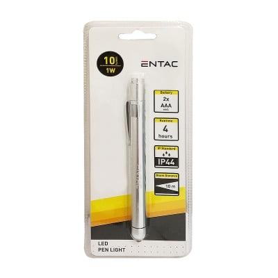 Фенер-писалка FL-1W-MINI-ALU ENTAC