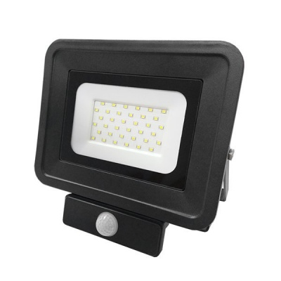LED SMD Прожектор със сензор 30W черен Classic Line2 Optonica