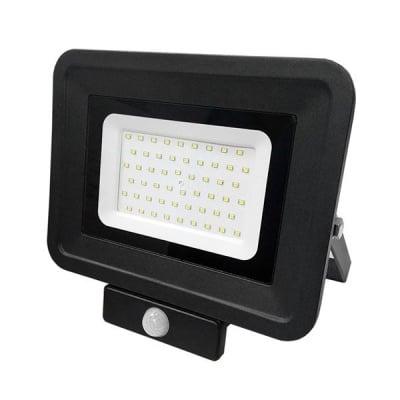 LED SMD Прожектор със сензор 50W черен Classic Line2 Optonica