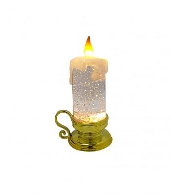 Светещ свещник на батерии