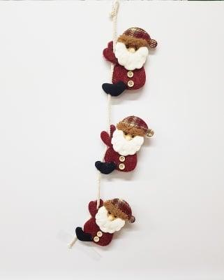 Висяща текстилна украса Дядо Коледа