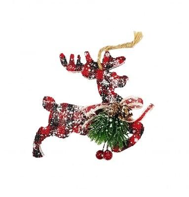 Коледна украса за закачане - елен