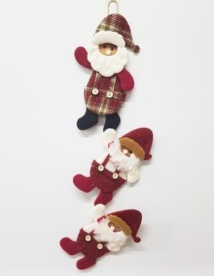 Висяща текстилна украса  Santa Claus