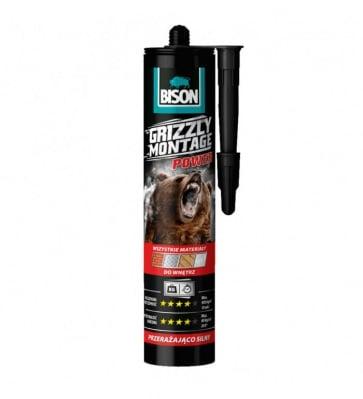 Монтажно лепило Grizzly montage power Bison