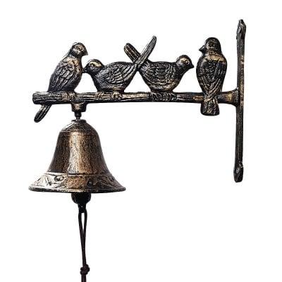 Метална камбана - гълъби