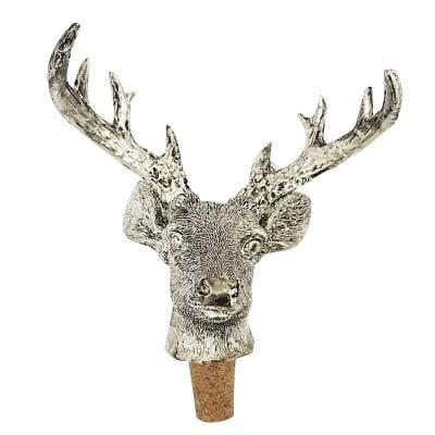 Декоративна тапа за бутилка - елен