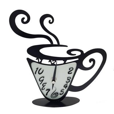 Часовник - чаша кафе