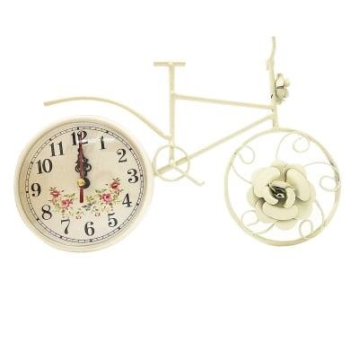 Meтален часовник - велосипед