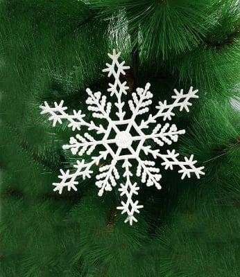 Комплект снежинки за елха