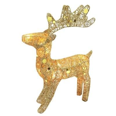 Светещ елен - злато и сребро