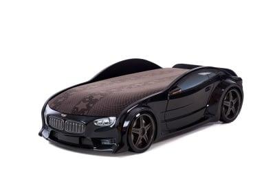 3D легло - кола черно BMW Neo + матрак