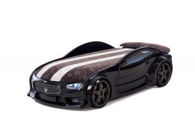 3D легло - кола черно Мазерати Neo + матрак