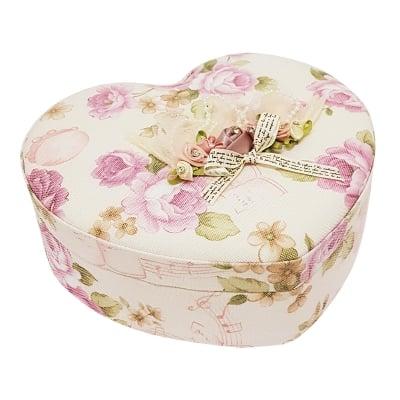 Кутия за бижута - сърце