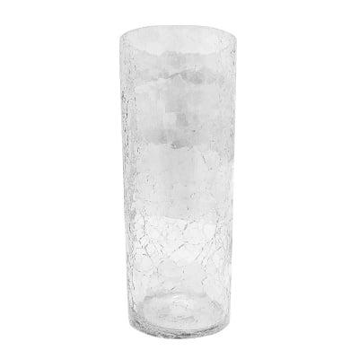 Стъклена ваза - паяжина