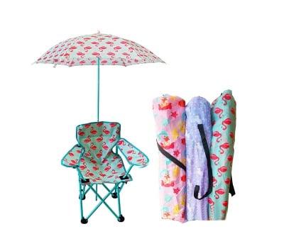 Детски сгъваем стол с чадър
