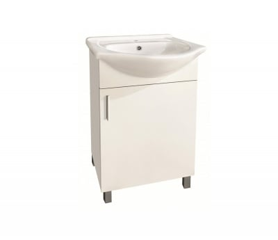 PVC шкаф за баня с умивалник Алора 1 Inter Ceramic